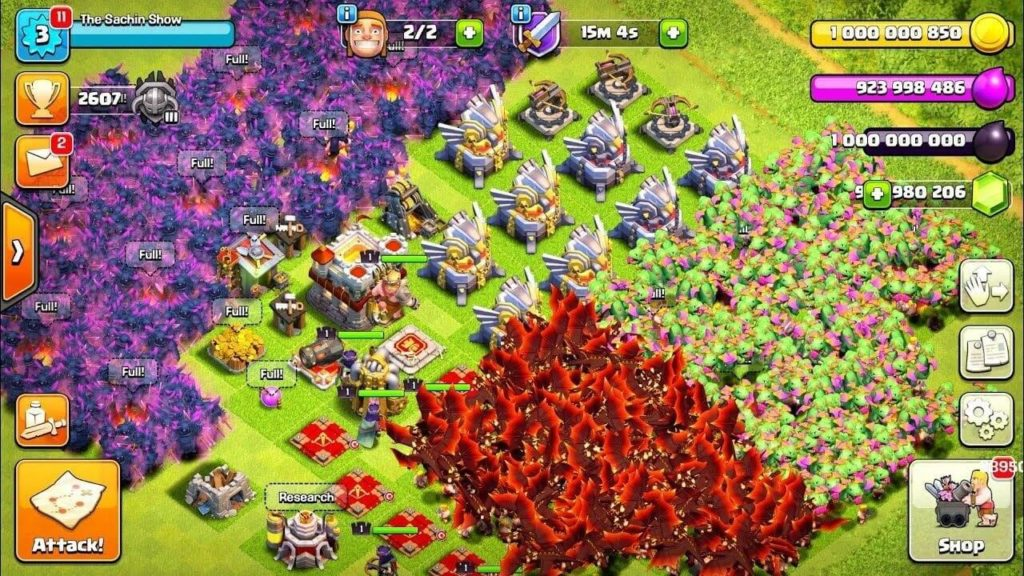 game play of COC