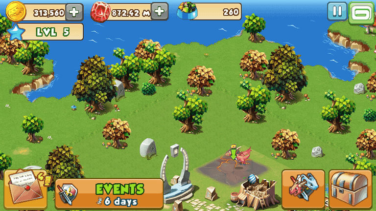 Dragon Mania Gameplay
