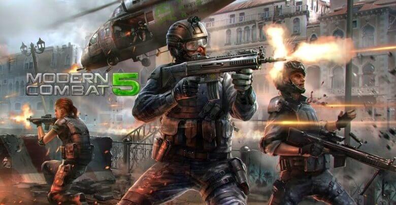 Modern-Combat-5-Mod-APK-Gameplay