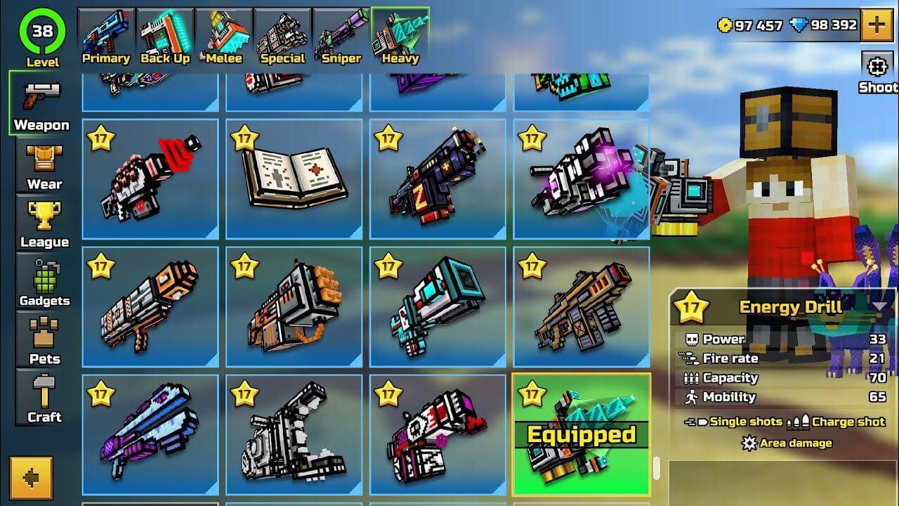 Pixel Gun 3d Mod APK Gameplay