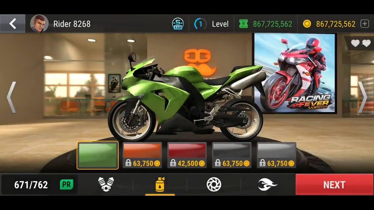 Racing Fever Moto Gameplay
