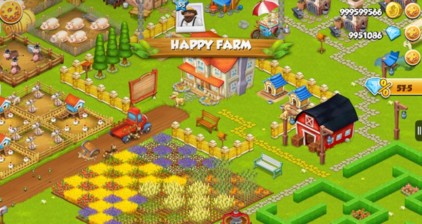 Hay Day Mod APK v1.45.111 [Unlimited Gems, Seeds and Coins]