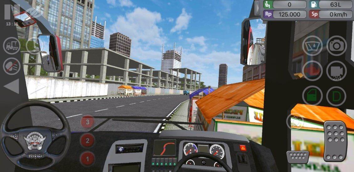 Bus Simulator Gameplay