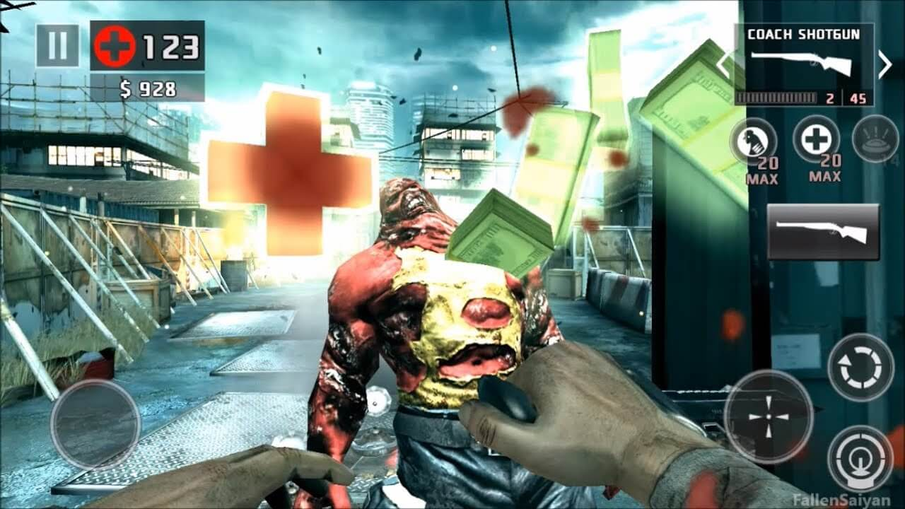 dead trigger 2 hacked apk download android