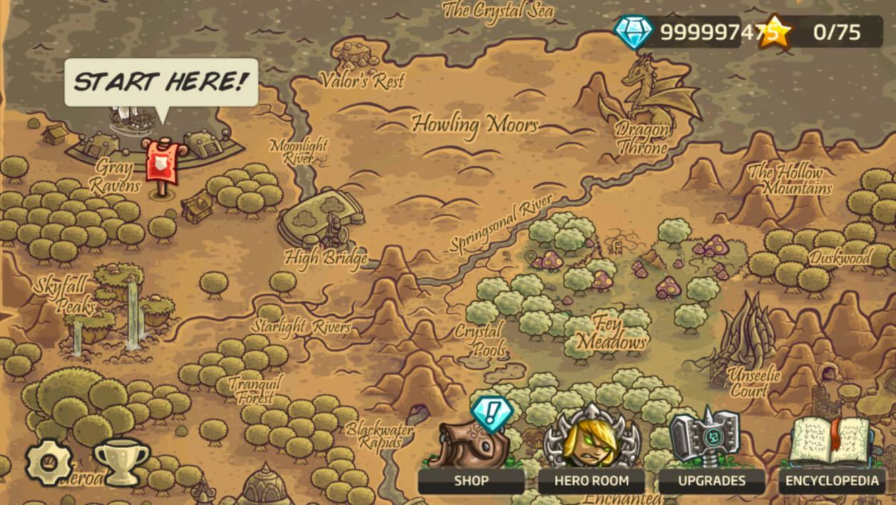 Kingdom Rush Gameplay