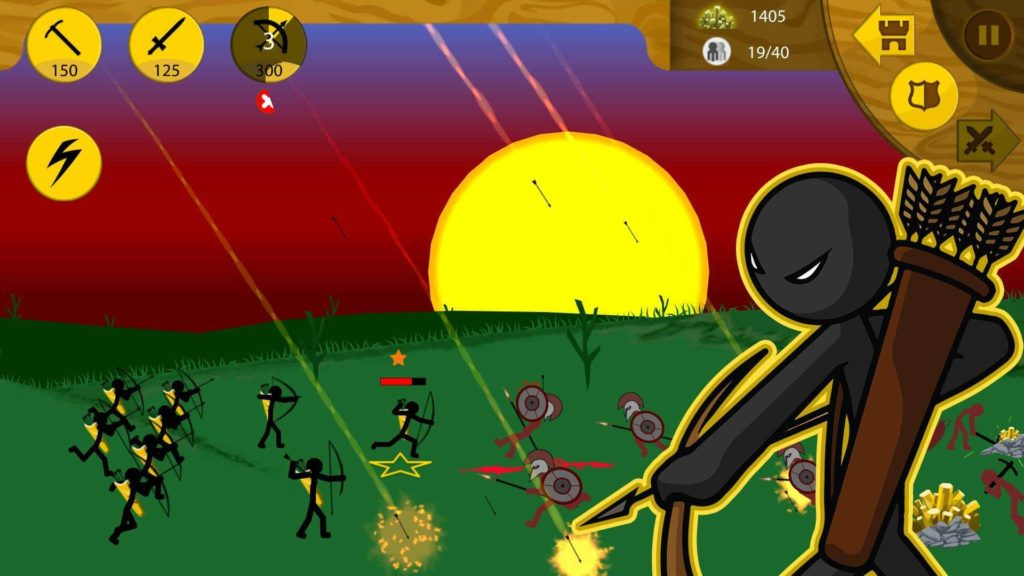 Stick War Legacy Gameplay