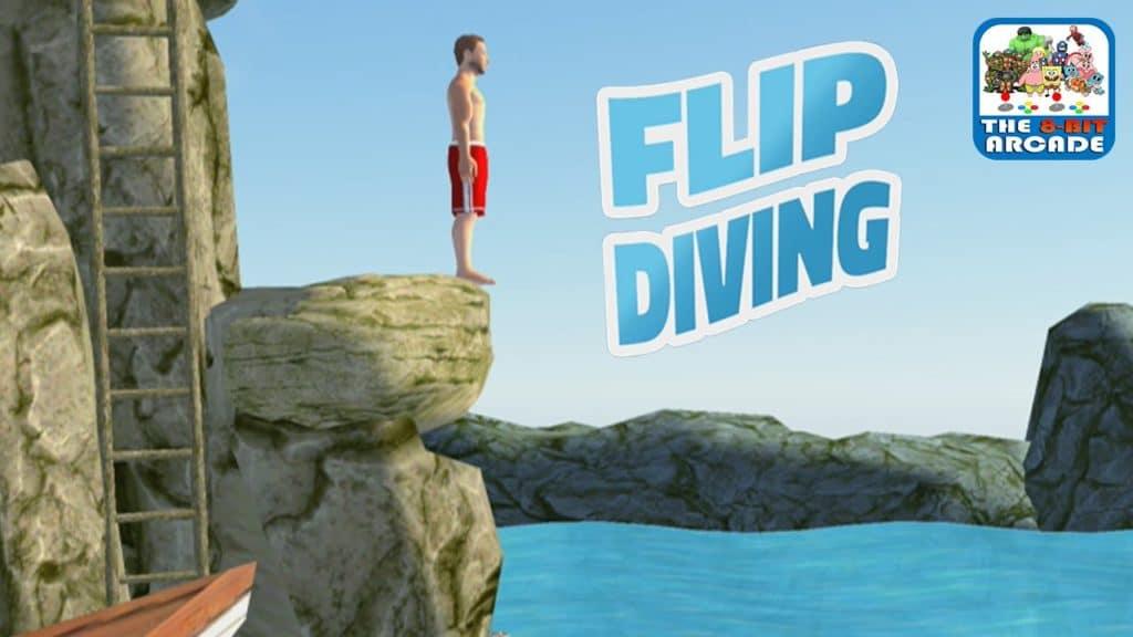 flip diving gameplay