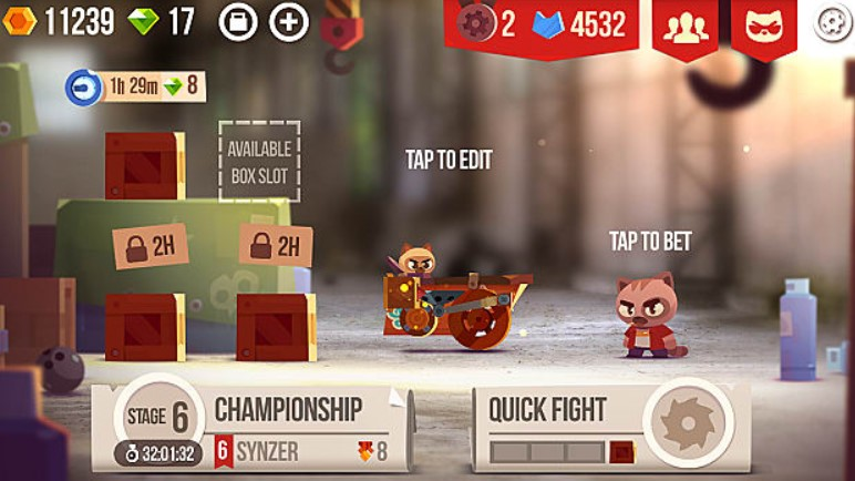 Crash Arena Turbo Stars mod apk
