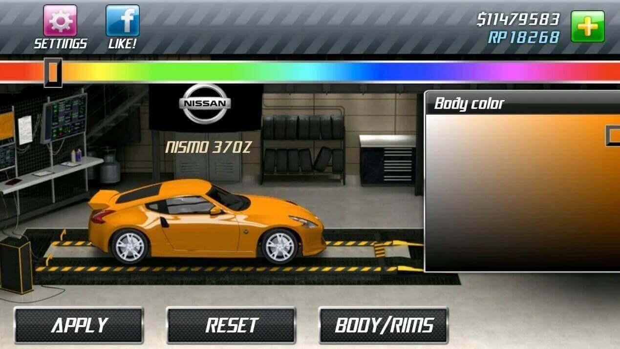 Drag Racing Gameplay