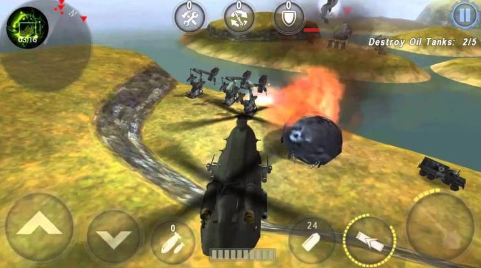 Gunship Battle hack