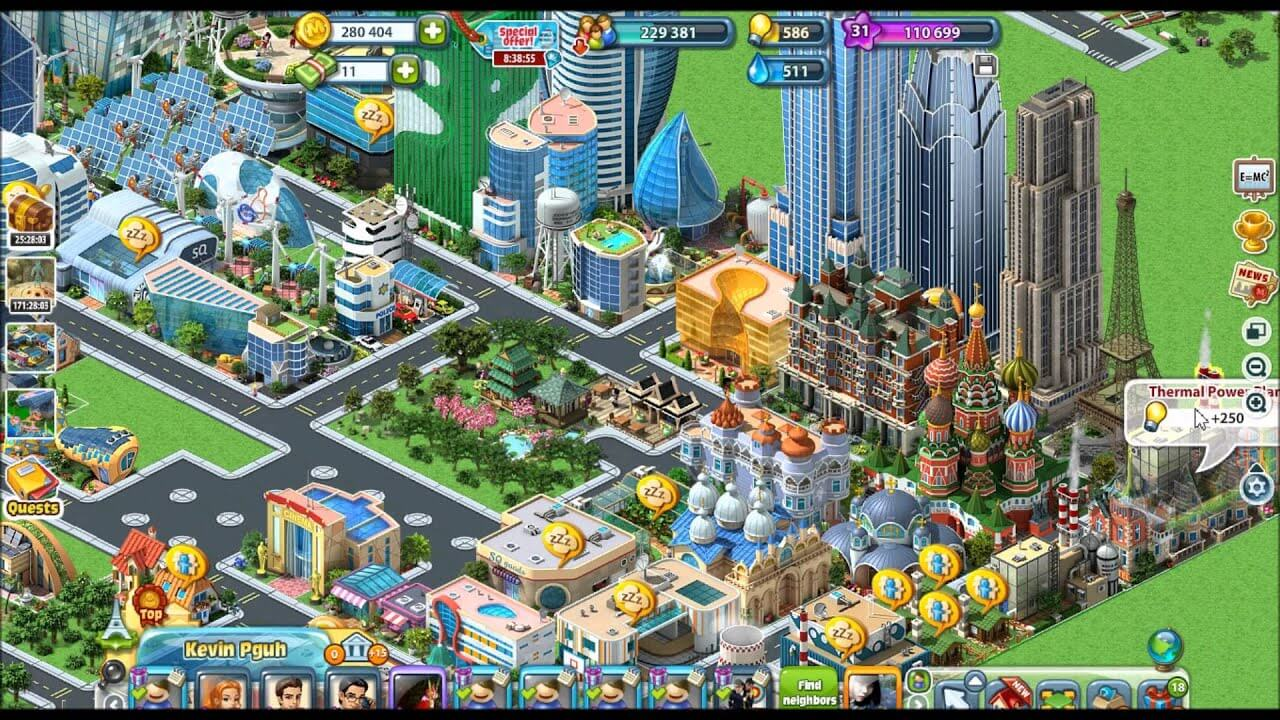 Megapolis Gameplay