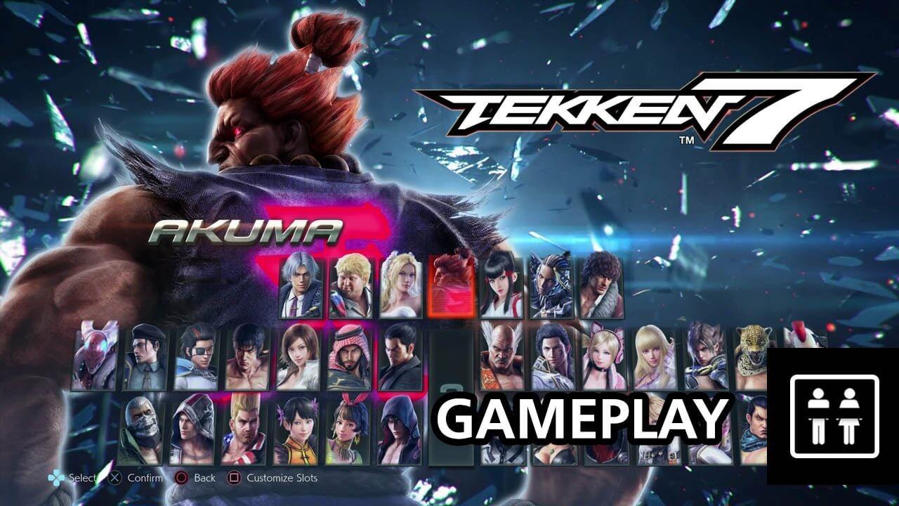 Tekken 7 Gameplay