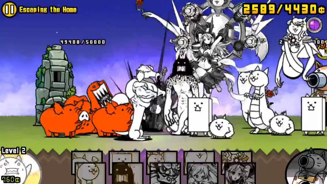 Battle Cats Gameplay