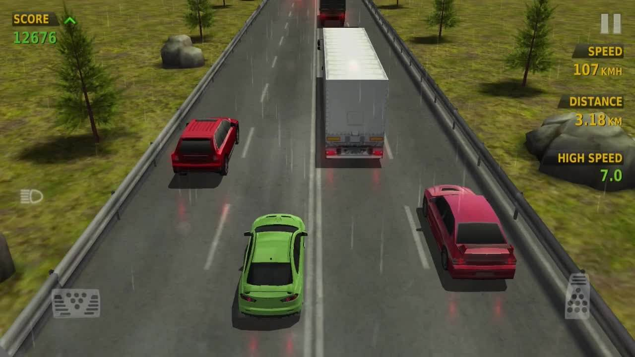 Traffic Racer Gameplay