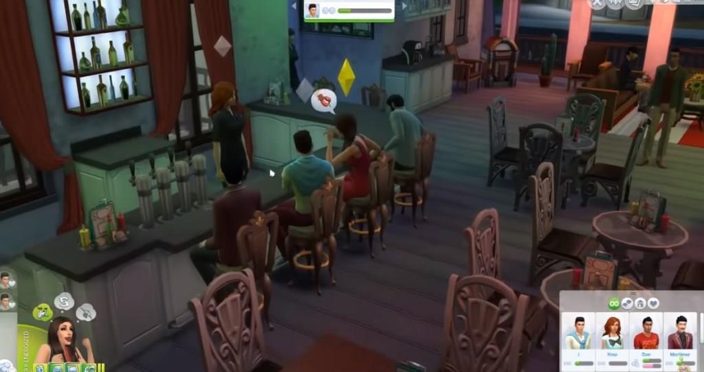 The Black Widow- Sims 4 Challenge