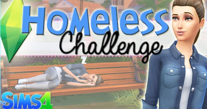 The Homeless- Sims 4 Challenge