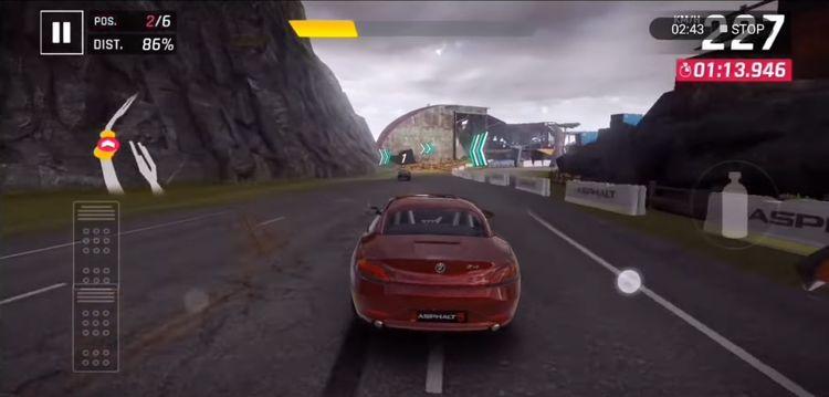 Player screen in Asphalt 9 mod apk