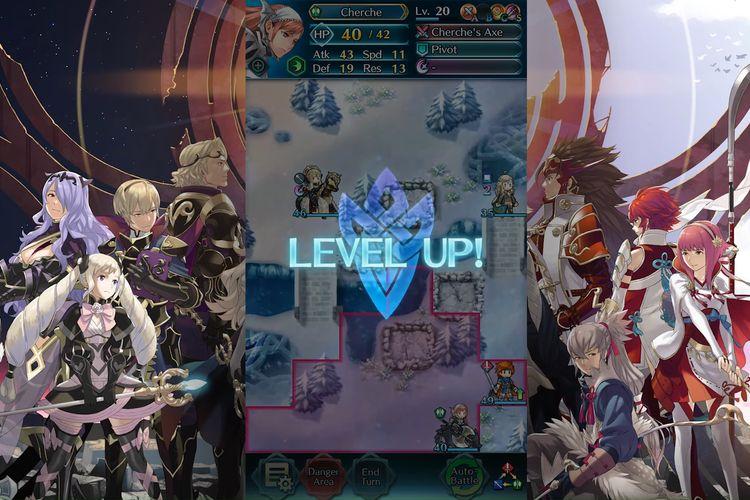 Fire Emblem Heroes levels