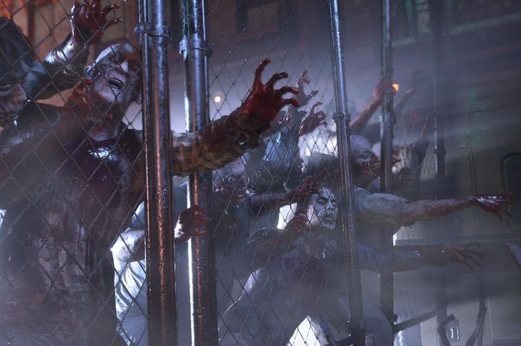 Zombies in the Resident Evil 3 Remake