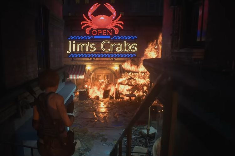 Location in the Zombies in the Resident Evil 3 Remake