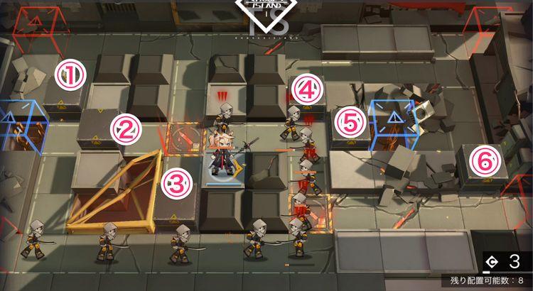 Arknights Gameplay screen