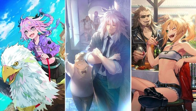 Fate Grand Order Apocrypha characters