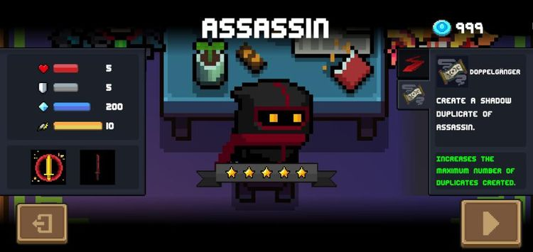 Assasin Soul Knights 2.6.5